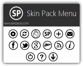 Skin Pack Menu