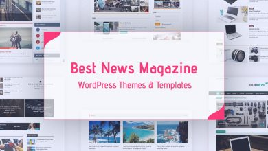 Photo of Best 10 Blog / Newspaper / Magazine Wordpress Theme