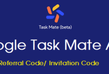 Photo of Google Task Mate Invite / Refer Code (New) Apk Download Free In India, Process