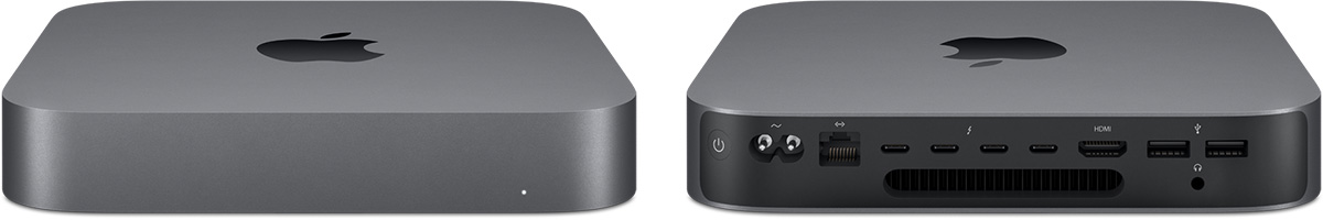 mac mini 2018 space gray