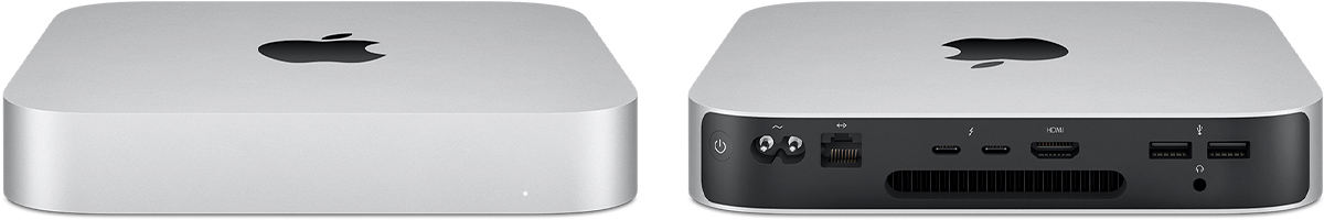 mac mini 2020 silver