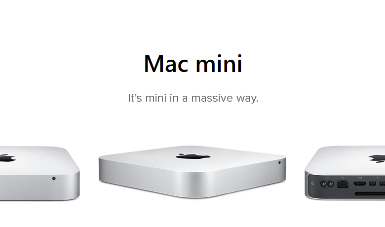 mac mini banner