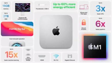 apple mac mini 2020 announcment